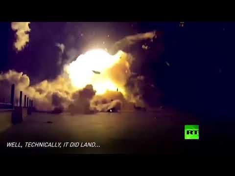مصر اليوم - شاهد فيديو لانفجارات فالكون 9 في سبايس إكس