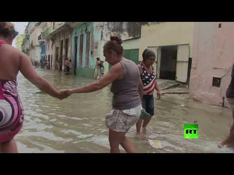 مصر اليوم - شاهد شريط فيديو جديد يظهر آثار إعصار إرما في كوبا