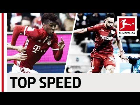 مصر اليوم - بالفيديو تعرف على أسرع 10 لاعبين في الدوري الألماني