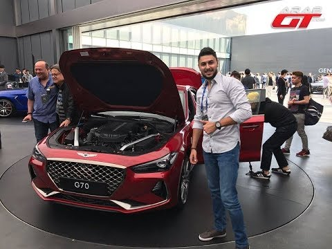 مصر اليوم - تعرف على جينيسيس g70 موديل 2018