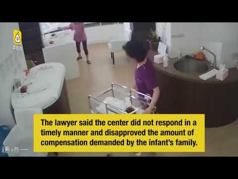 مصر اليوم - شاهد إهمال ممرضة يتسبب في سقوط طفل حديث الولادة