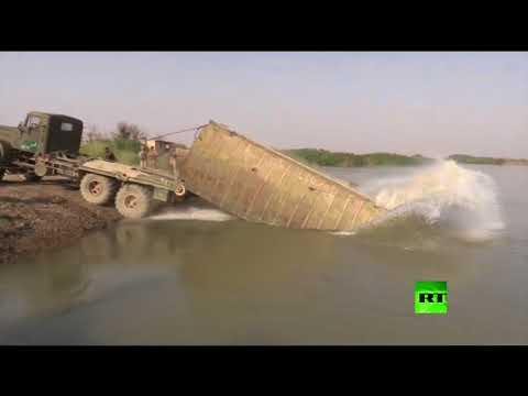 مصر اليوم - شاهد القوات السورية تعبر إلى الضفة الشرقية للفرات