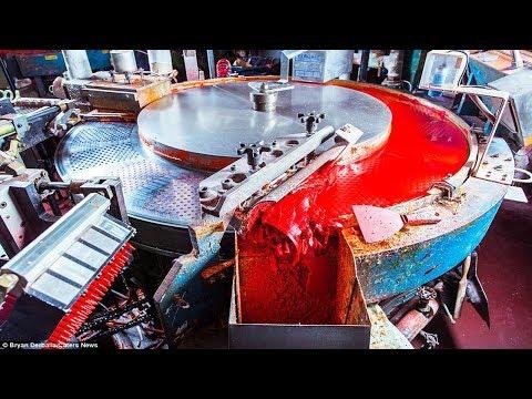 مصر اليوم - شاهد جولة ممتعة داخل مصانع أقلام الرسوم الملوّنة