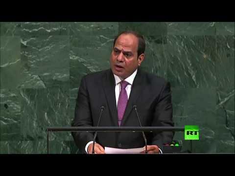 مصر اليوم - شاهد السيسي يدعو الفلسطينيين إلى الوحدة والتعايش مع الإسرائيليين