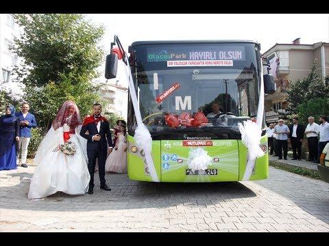 مصر اليوم - عروسان يحتفلان بزفافهما داخل حافلة نقل عام