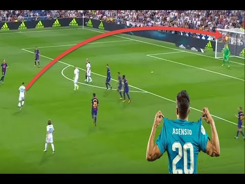 شاهد: السر وراء جنون الأندية على جوهرة ريال مدريد ماركو أسينسيو