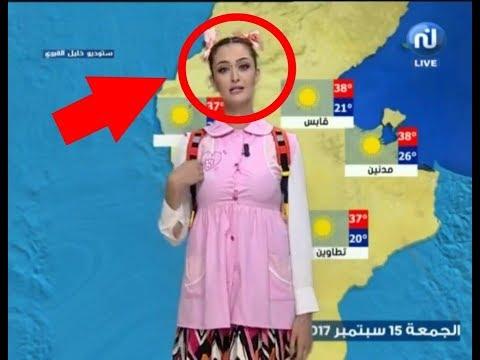 مصر اليوم - شاهد مذيعة عربية تقدم النشرة الجوية بملابس المدرسة