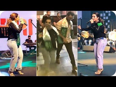 مصر اليوم - بالفيديو بلقيس فتحي تشعل حفلة العيد الوطني السعودي