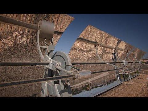 مصر اليوم - شاهد محطة توليد الطاقة الشمسية في المغرب
