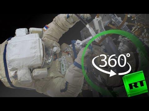 مصر اليوم - شاهد فيديو يستعرض المشى في الفضاء بتقنية 360