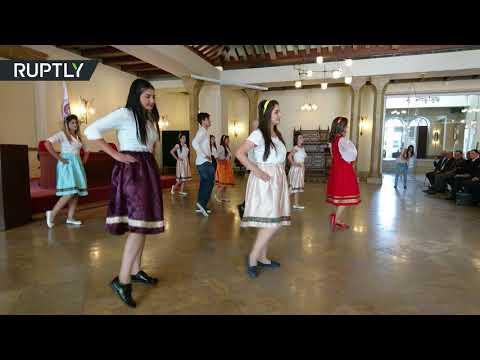 مصر اليوم - شاهد افتتاح المركز الروسي في جامعة دشمق