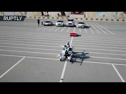 مصر اليوم - شاهد اختبار دراجة نارية طائرة في دبي