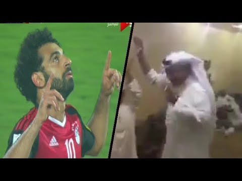 مصر اليوم - شاهد  لحظات الفرحة الجنونية بصعود مصر لكأس العالم من جميع البلاد العربية