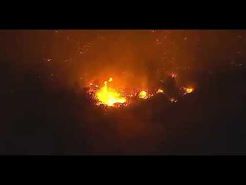 مصر اليوم - شاهد كاليفورنيا تعلن حالة الطوارئ بسبب حرائق قتلت 13 شخصاً