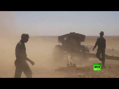 مصر اليوم - شاهد غراد الجيش السوري يحرق قناصين من داعش