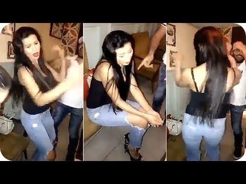 مصر اليوم - شاهد نادين الراسي في لقطة رقص مجنونة