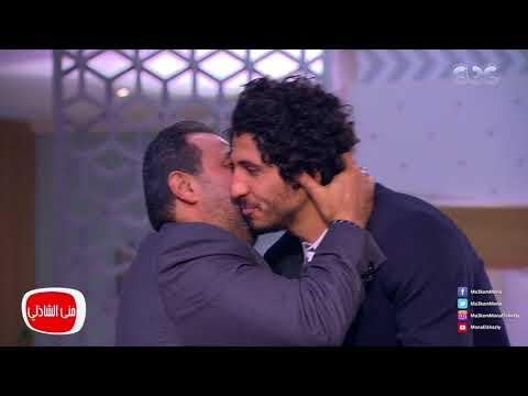 مصر اليوم - شاهد سر مغادرة مجدي عبدالغني الاستديو بعد حضور  حسام حسن