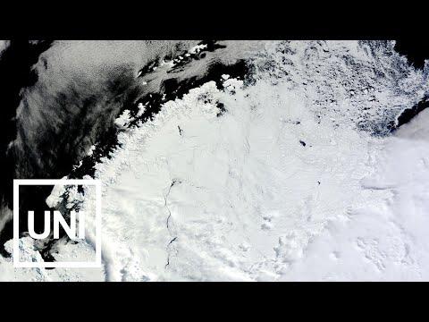 مصر اليوم - شاهد حفرة ضخمة بحجم أيرلندا تظهر في القارة الجنوبية تحيّر العلماء