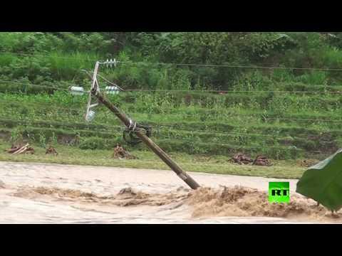 مصر اليوم - شاهد فيضانات فيتنام تخلّف 54 ضحية