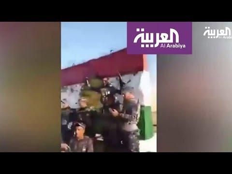 مصر اليوم - شاهد مقاطع مصورة لانتشار الحشد الشعبي جنوب كركوك