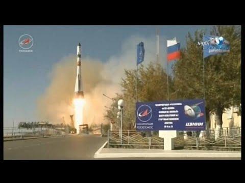 مصر اليوم - مركبة فضاء روسية في مهمة إمداد للمحطة الدولية
