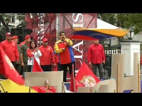 مصر اليوم - بالفيديو الحزب الحاكم يفوز في انتخابات فنزويلا
