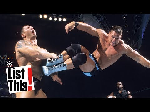 مصر اليوم - شاهد 6 حركات يفضلها جون سينا على حلبات المصارعة