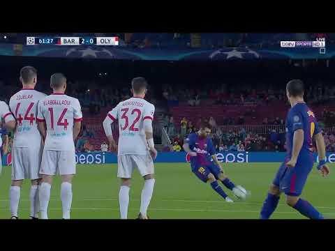 مصر اليوم - شاهد برشلونة يفوز على  أولمبياكوس بثلاثية مميّزة مقابل هدف واحد فقط
