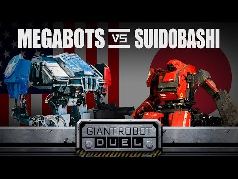 مصر اليوم - شاهد الولايات المتحدة تهزم اليابان في مسابقة الروبوتات العملاقة