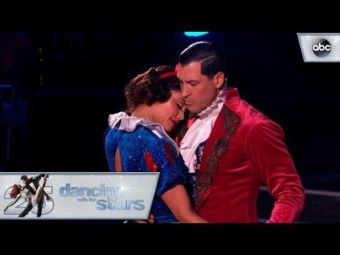 مصر اليوم - شاهد فانيسا لاتشي تتحول إلى سنو وايت في الرقص مع النجوم