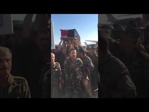 مصر اليوم - شاهد وصول جثمان عصام زهر الدين إلى مطار دمشق الدولي
