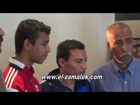 بالفيديو رئيس الزمالك يعلن إنتهاء أزمة منتخب المكفوفين