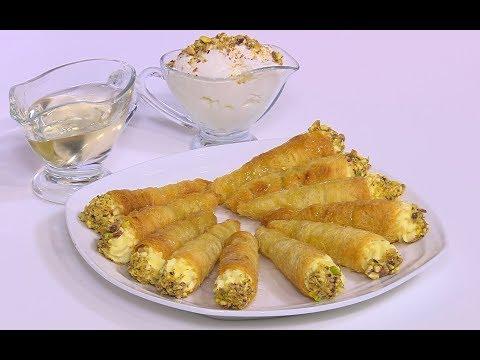 مصر اليوم - شاهد طريقة إعداد كون الكنافة