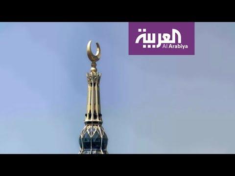 مصر اليوم - بالفيديو تعرف على قصة الهلال الذي يعلو منارات المساجد