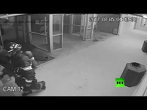 مصر اليوم - شاهد لحظة وقوع تفجير في مسجد أميركي