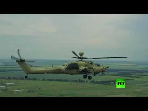 مصر اليوم - شاهد فيديو رائع تظهر فيه مروحية مي28 أو بي الروسية المتقدمة