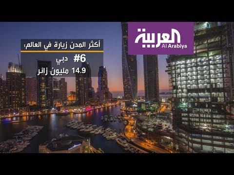 دبي بين أكثر المدن زيارة في العالم