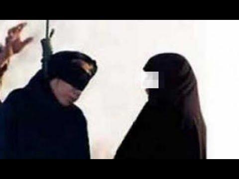 شاهد امرأة تلد أثناء إعدامها وتثير الجدل الواسع