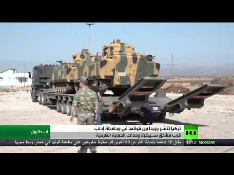 شاهد الجيش السوري يواصل انتشاره في إدلب السورية