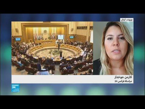 شاهد الأمين العام للجامعة العربية يصل إلى بيروت