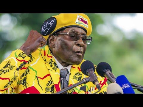 شاهد منع آلاف المتظاهرين ضد موغابي من الوصول إلى القصر الرئاسي