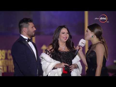شاهد  لقاء مع الثنائي الرائع  حسن الرداد وإيمي سمير غانم