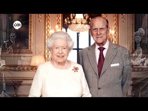 شاهد الملكة إليزابيث تحتفل بعيد زواجها الـ70 وسر رومانسي وراء دبوس