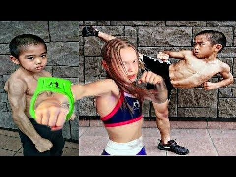 بالفيديو أقوى بنت ضد أقوى ولد