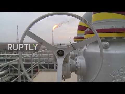 شاهد غازبروم نفط تُطلق مشروعًا مهمًا في العراق