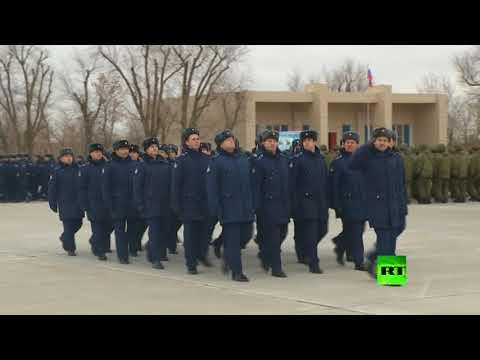 شاهد عودة دفعة إضافية من المقاتلات الروسية من سورية