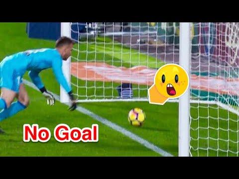 شاهد أهداف تجاوزت خط المرمى ولم يحتسبها الحكام