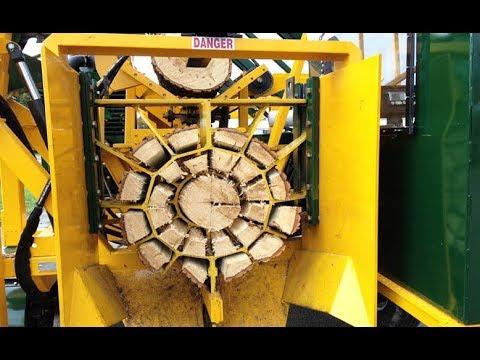 آلات خرافية من كندا لتقطيع الخشب