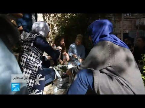 شاهد الزراعة لمساعدة اللاجئين في الأردن