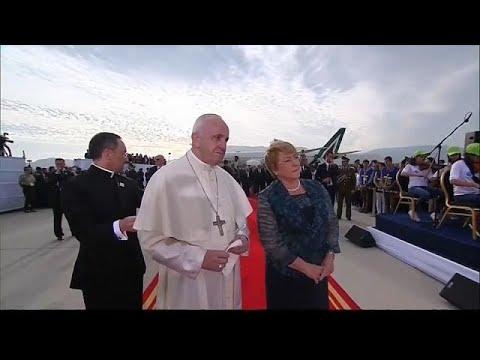 بالفيديو البابا فرانسيس في تشيلي لتحسين صورة الكنيسة